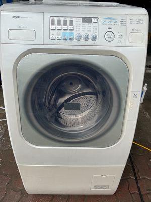 Máy giặt sanyo aqua 9kg sấy khô 6kg nội địa nhật