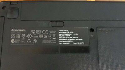 Laptop lenovo g40-70 pentium pin trâu
