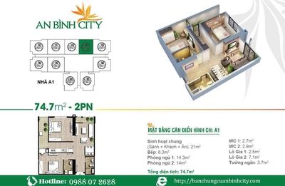 Chính chủ cần bán căn hộ 3310 A2 An B ..