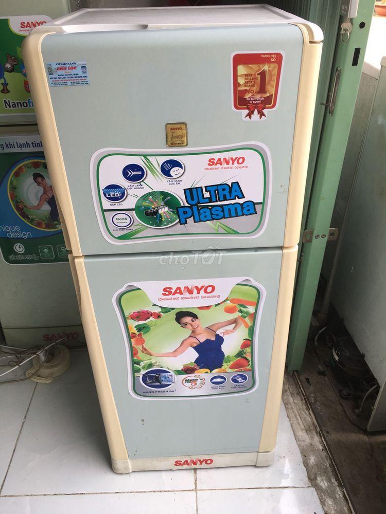 Tủ lạnh 165 lít sanyo ko đóng tuyết zin còn đẹp