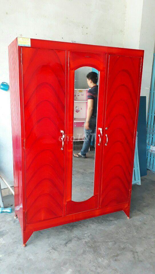 tủ sắt gia đình loại lớn ngang 1m2 2,3 cửa_NEW