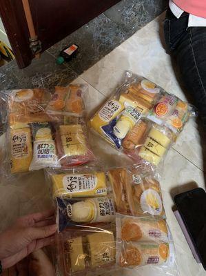 Bánh Đài Loan Mix Các Vị