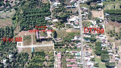 Bán đất dự án đường 769, xã lộ 25, thống nhất
