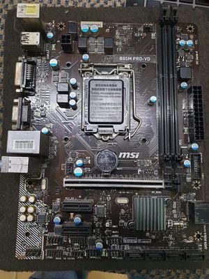 Mainboard MSI B85M PRO-VD sáng đẹp, full chức năng