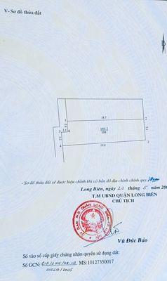 Đất ao VIỆT HƯNG Quận Long Biên 104m²