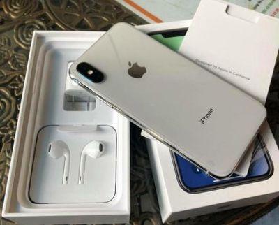 iPhone X/64G hàng cpo mới 100% active đủ 12t