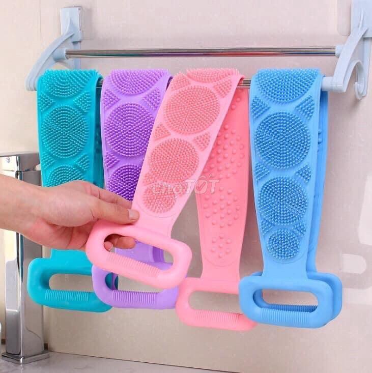 Đai tắm cọ lưng silicon