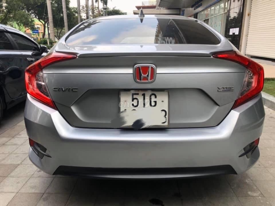 Civic 1.5L turbo 2017 biển SG