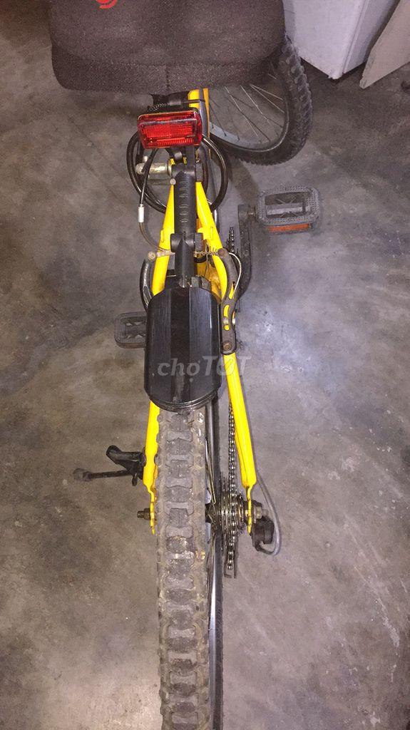 Xe đạp thể thao buổi sáng