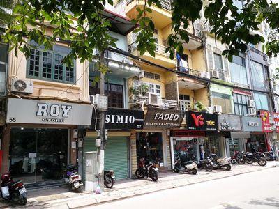 Mặt phố Hào Nam 12m2, 5 tầng, mt 3.5m, kinh doanh