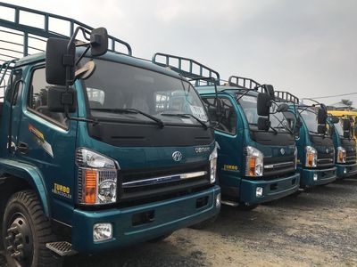 xe tải 7 tấn ga có thùng 6.3 m