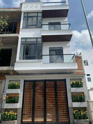 Nhà Bốn Lầu Hà Hoàng Hổ Rộng 7.4 mét