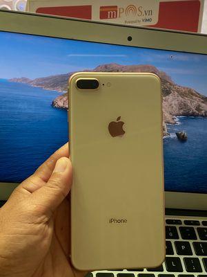 iPhone 8 + 64GB vàng hồng  zin full 98%