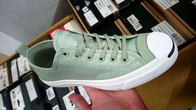 Giày converse jackpurcell vải xanh size 43 44 r