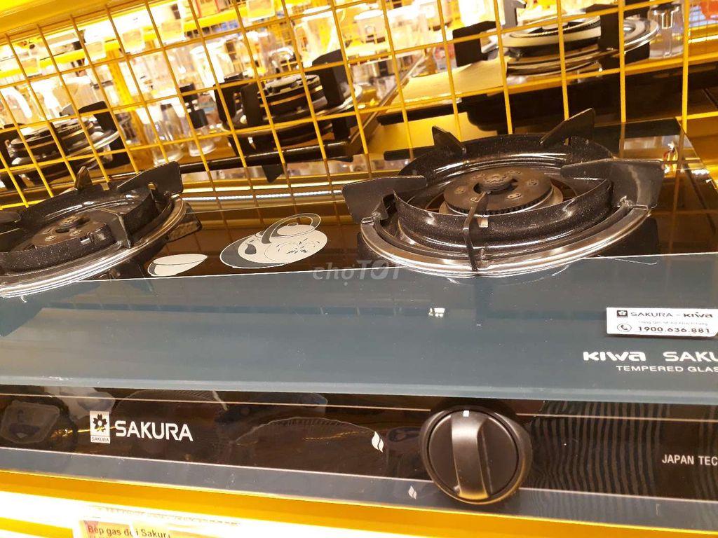 Sakura mới 99% bếp đôi 2 bếp SA-692SG