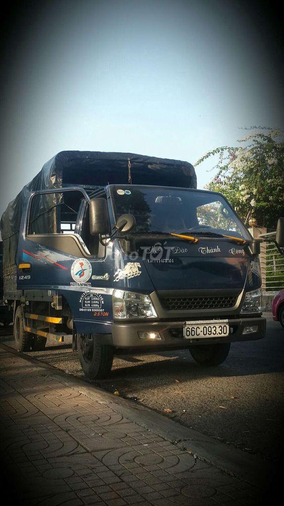 Xe tải nhận chở thuê tại thành phô cao lãnh