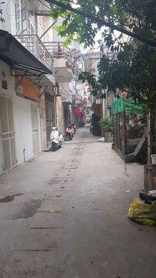 Bán nhà ngõ phố Minh Khai 50m, 3 tầng, sổ đỏ, 3,45
