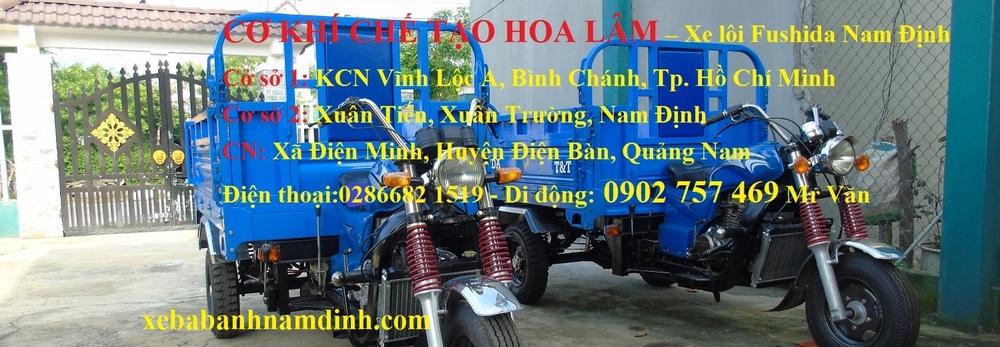 Xe Ba Gác - Xe Lôi Ba Bánh Nam Định