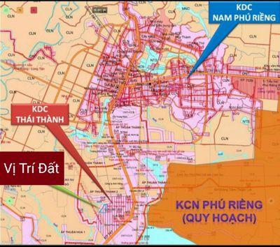 Đất Mặt Tiền DT741 Liền Kề KDC Thái Thành