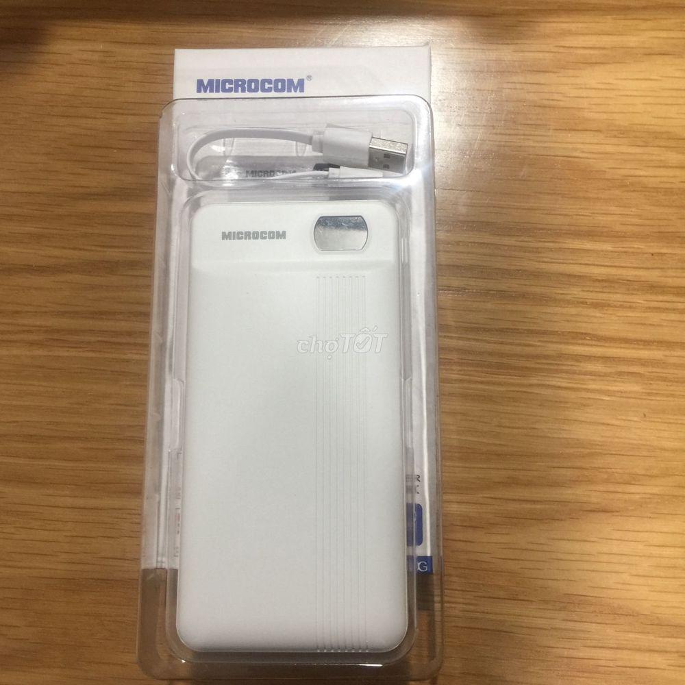 Pin sạc dự phòng Microcom 20.000mAh
