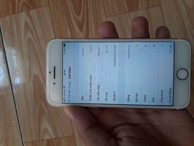 Iphone 7 quốc tế zin nguyên bản đẹp