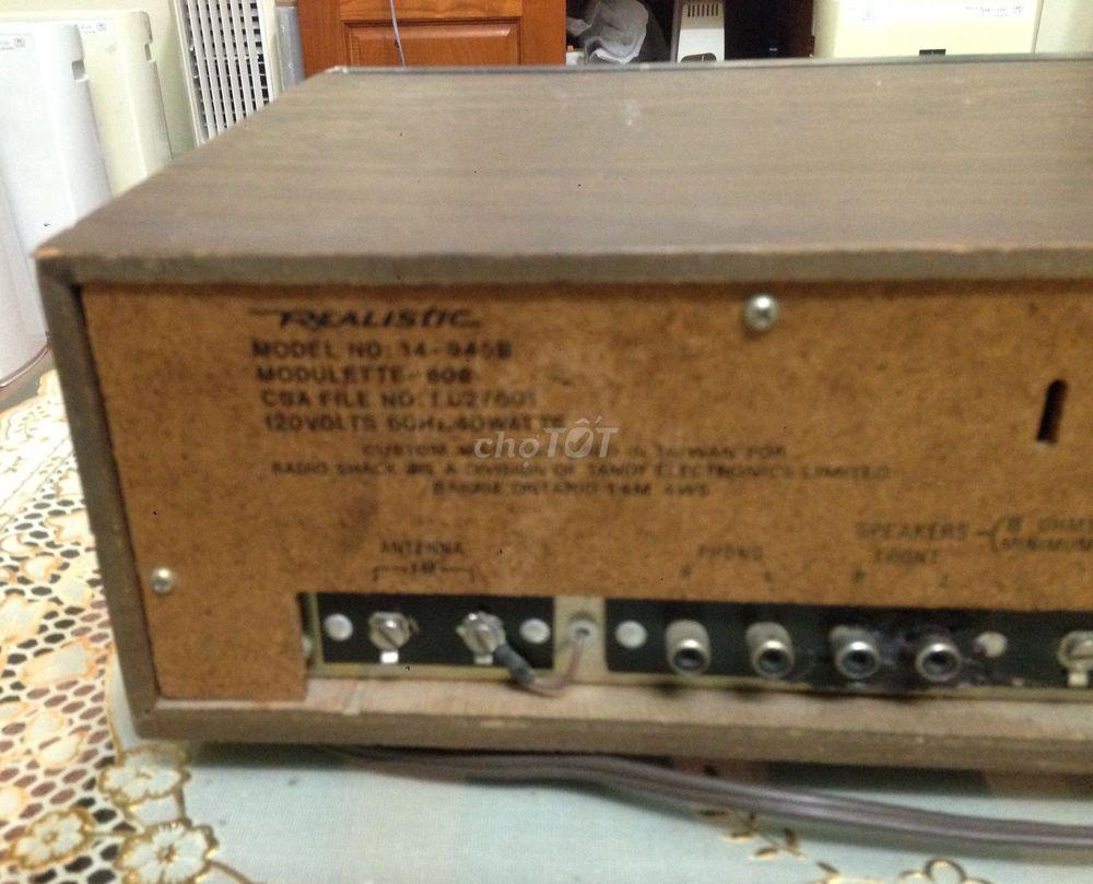 Bán Ampli đài realistic 808