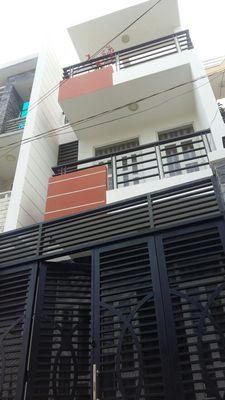 Nhà 1 trệt 2 lầu 61m2 55/12/14 đường 5, p. BTT, q2