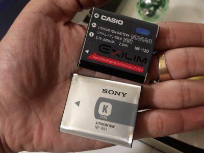 Pin zin cho Máy ảnh / Điện thoại các đời