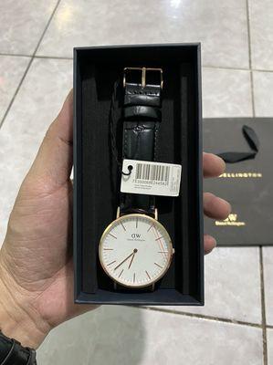 đồng hồ dw chính hãng size 40mm