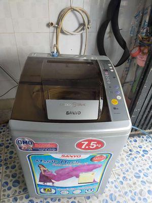 Máy giặt Sanyo 7,5 kg đời mới