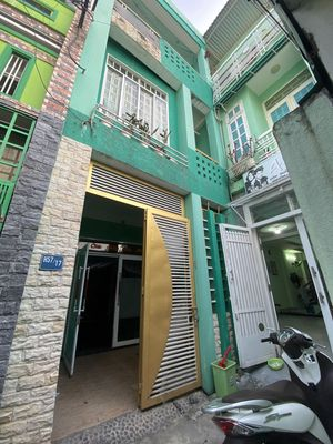Nhà 3 mê 3 tầng cực kì kiên cố Lê Đình Lý