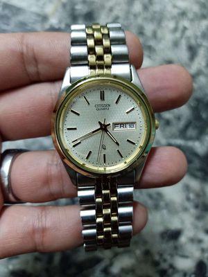 Đồng hồ củ xưa Citizen quartz nhật