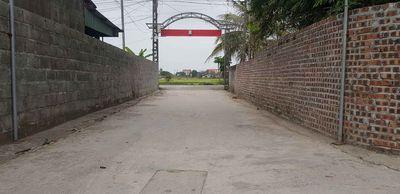 Chính chủ cần bán lô đất thôn Thù Du, Minh Tân,KT
