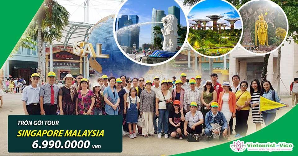 SINGAPORE - MALAYSIA 4 NGÀY 3 ĐÊM (4-5 SAO)