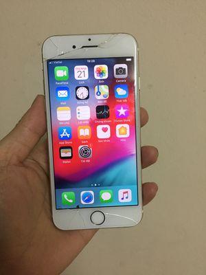 apple iphone 6 quốc tế 16g nứt kính.