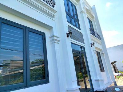 Nhà mới hiện đại 1 trệt 1 lầu gần Bờ Hồ Bún Xáng