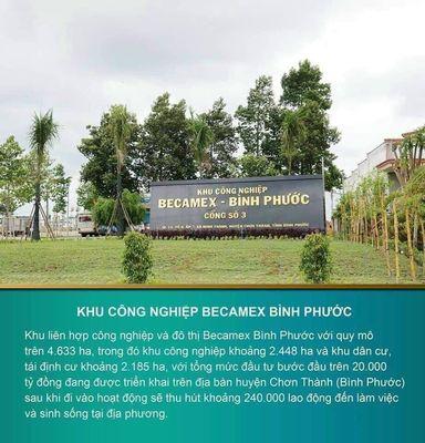 Bán đất đường Hồ Chí Minh khu công nghiệp Becamex