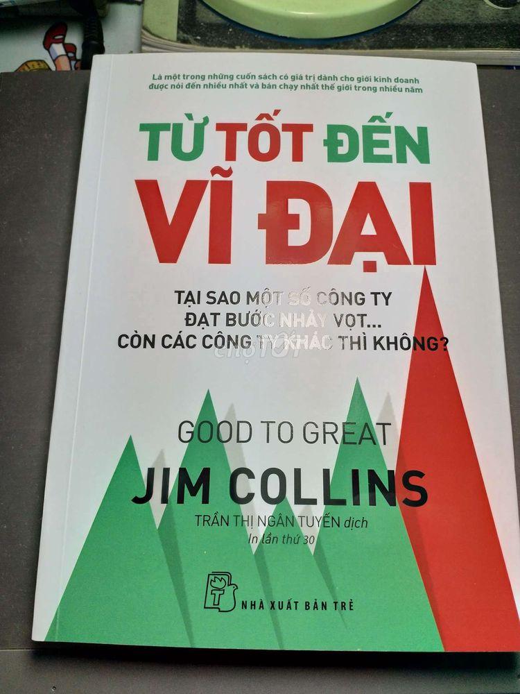 Sách của JIM COLLINS, nhà Xuất Bản Trẻ phát hành