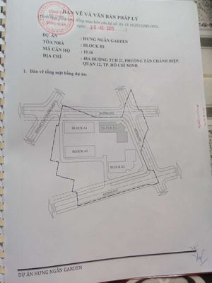 Cần bán CH Hưng Ngân 2pn 51m2 căn 19.16 quận 12
