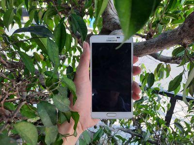 Samsung Galaxy Note 4 Trắng Đẹp 99%