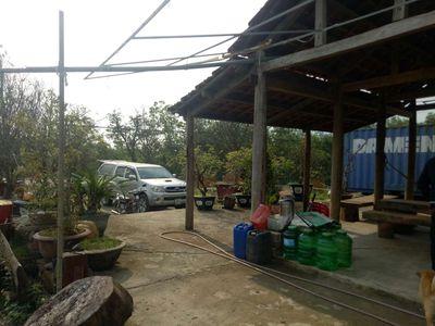 Bán 1 Nhà vườn 1 hec  MT604 Hòa Phú có 300m đất ở
