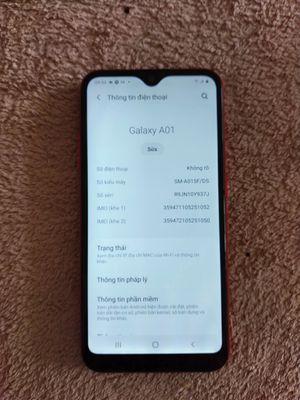 Samsung a01 màu đỏ