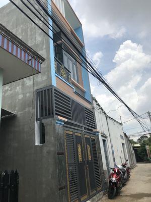Bán nhà 1 trệt 1 lầu p.Long Bình Tân tp Biên Hòa