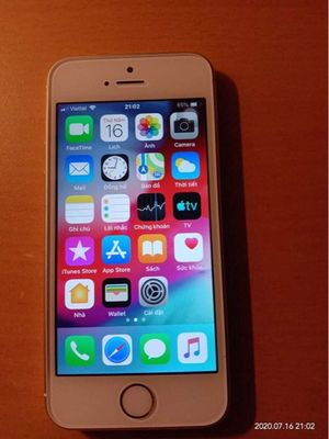 Apple iPhone 5S vàng hồng