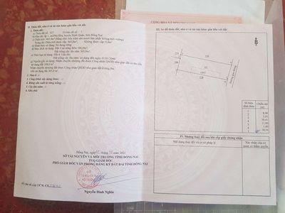 Cần bán lô đất chính chủ dt 12×39 sổ riêng