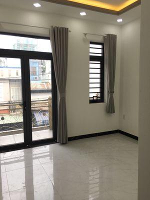 Nhà HXH thông 1 trệt 2 lầu st Phan Đăng Lưu, 6.3ty