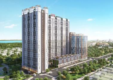 Chung cư Citi Grand 56m² 2 PN