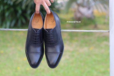 Giày Captoe Oxford. Hiệu Rooster. Size 37-44. 980k