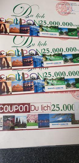 Voucher Vietravel hoặc Saigon tourist số lượng