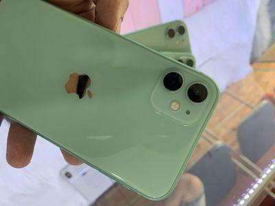 Iphone 11 Xanh Ngọc 128G xài 2 sim vật lý mới keng